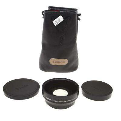 Canon WD-H58W 0.8x Wide Converter Lens for XA10, XF100 ,XF105 and HF G10 HD