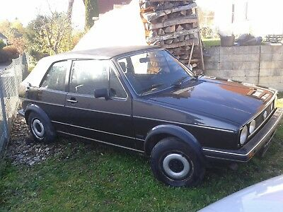 VW Golf Cabrio 1 Karmann Bj '86 Oldtimer