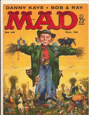 Mad (1952 series) #43 in Fine condition. E.C. comics [*v9]