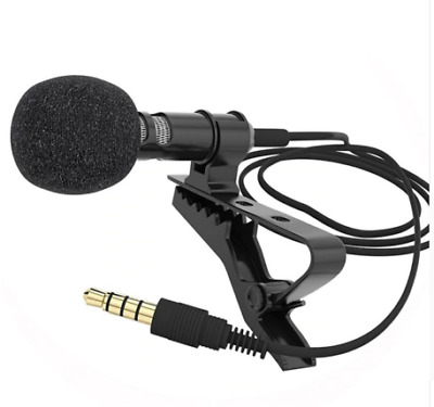 Lavalier Microphone Mic for iOS Android Cell Phone microfono para celular yaka m