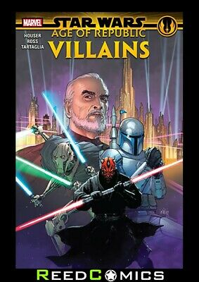 STAR WARS AGE OF REPUBLIC VILLAINS GRAPHIC NOVEL Collect 4 Part Series + Special