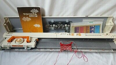 toyota 24 stitch punchcard knitting machine fully serviced and tested ks901