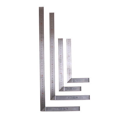 Stainless Steel L-Square Angle Ruler Woodworking Measuring Tool 25/30/50/60cm~IJ