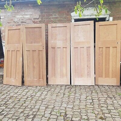 Reclaimed 1930s stripped pine doors.
