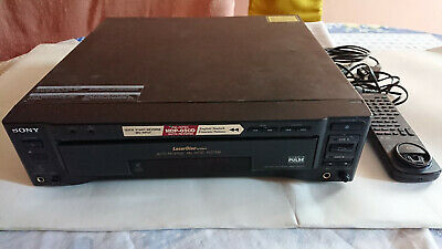 Sony Mdp-850D Laser Disc Laserdisc Lettore Player
