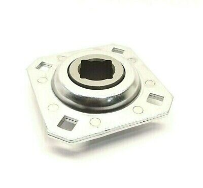 Ddi 083656 St208-118N Flanged Square Bearing 1-1/8 Inch For Disc Harrow