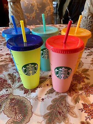 Starbucks Cold Color Changing Cups - ONE CUP ONLY (CHOOSE ONE)