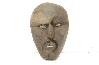 VTG Traditional Wood Tibetan Himalayan Ban Jhakri Shaman Mask Carved