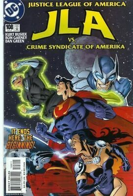 JLA #108 (Justice League of America)  DC Comics Superman  Batman  Wonder Woman