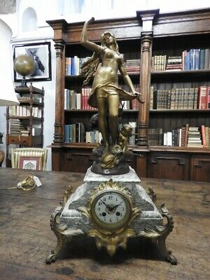 Wonderful Antique Watch Liberty French with Sculpture the Birth of Venus