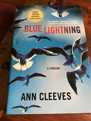Shetland Island Mysteries: Blue Lightning : A Thriller by Ann Cleeves Hardcover