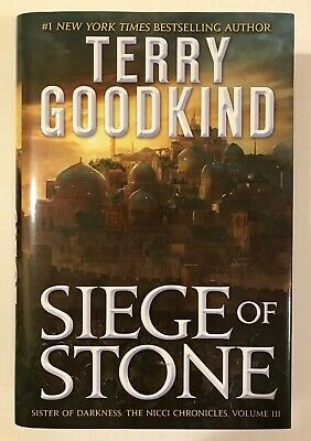 Siege of Stone Terry Goodkind Hardcover Ex-Library