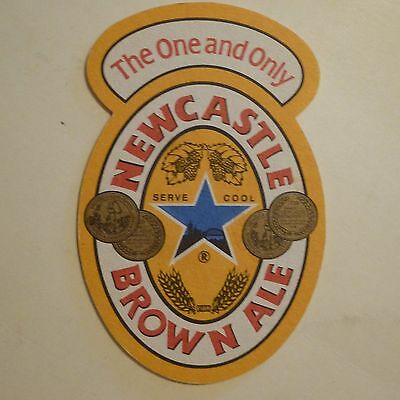 BEER Bar COASTER: Scottish & Newcastle Breweries Brown Ale ~ Newcastle Upon Tyne