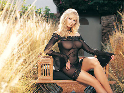 Leg Avenue Mesh Dress with Bell Sleeves Set inc G-String. BLACK 1 size 10-14