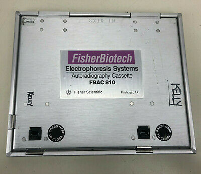 FisherBiotech Electrophoresis Systems 8 x 10 Autoradiography Cassette FBAC 810