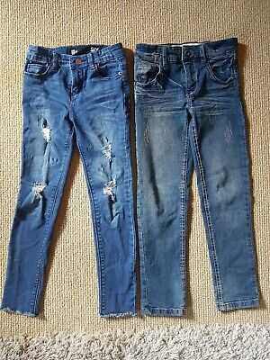 2 X Girls Cotton On Jeans Size 6