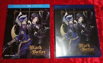 BLACK BUTLER SEASON 3 BOOK OF CIRCUS (2016) Blu-Ray DVD Combo Pack NEW & SEALED