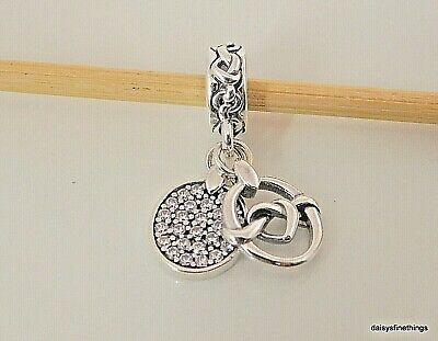 cb963f027 AUTHENTIC PANDORA SILVER Charm Knotted Heart 798081 - $27.50 | PicClick
