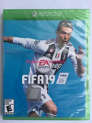 FIFA 19 2018 XBox One Standard Edition New Sealed w/Shrink Wrap Soccer Football