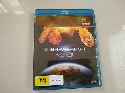 The Universe In 3D blu ray