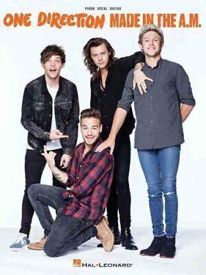ONE DIRECTION MADE IN THE A.M. PVG BOOK by One Direction 9781495057557
