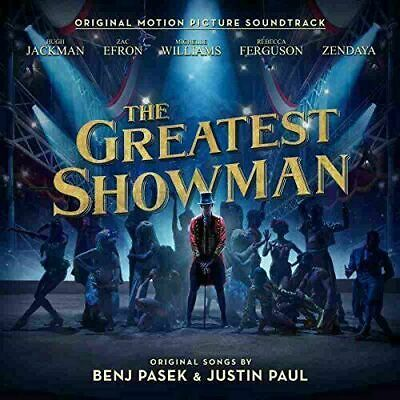 The Greatest Showman Soundtrack CD Disk only.