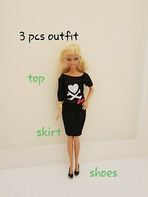 New Elegant everyday fashion casual outfit For Your Barbie doll CC3