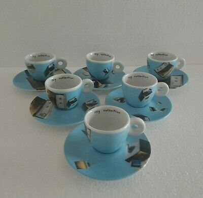 Tazzine ILLY COLLECTION * INTERNATIONAL FLIGHT by NORMA J. - anno 2002