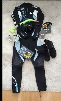 Wetsuit, Diving Computer And Accessories
