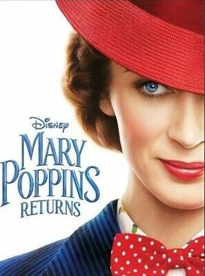 Mary Poppins Returns [DVD] [2019] DISK ONLY.