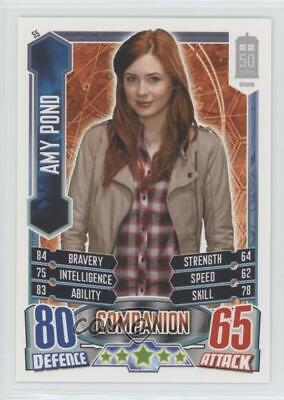 2012 Topps Doctor Who Alien Attax 50 Years #55 Amy Pond Non-Sports Card 1i3