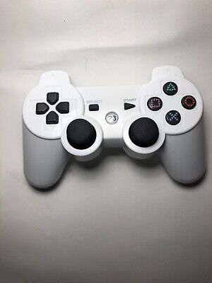 Used Wireless Controllers For PS3 Bluetooth DualShock III (White) Replacement
