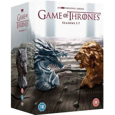 Game of Thrones: The Complete Seasons 1-7 New and Sealed BoxSet DVD Region 2 UK