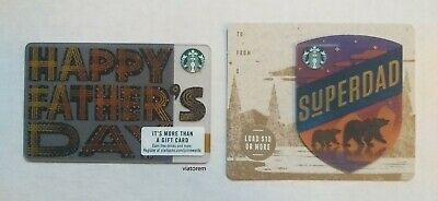 Starbucks Card 2019 Father's Day Dad