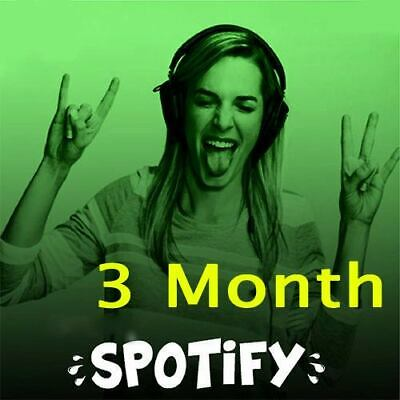 Spotify Premium Membership 3 Month - 100%  Waranty - MIGRATE your Playlists
