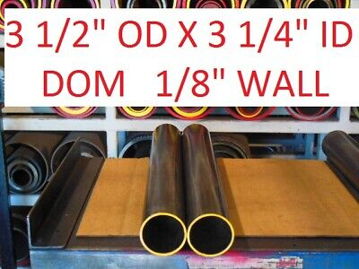 "E0283  Dom Round Steel Tube  3.500 Od  X   3.250 Id  (.125 Wall)   24""  Long"