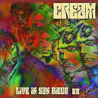 Cream- Live In San Diego 68 Limited Edition 2x Hand Numbered Vinyl LP LC2LPC5021