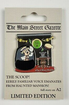 Disney Pin WDW Scoop Pin of the Month Haunted Mansion LE OC Mickey Mouse