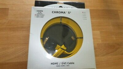 WireWorld Chroma 5.2 HDMI to DVI Cable - 5.0m (MASSIVE 40% SAVING)