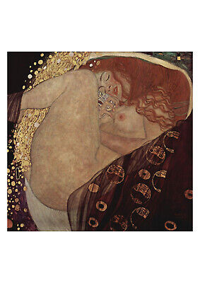 Danae by Gustav Klimt print on 230gsm photo quality paper size A4
