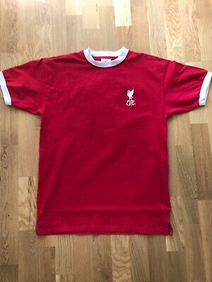 Liverpool 1970's Official Retro ScoreDraw Shirt 7..Adult Lge Excellent Condition
