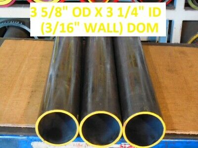 "E0321  Dom Round Steel Tube  3.625 Od  X   3.250 Id  (.187 Wall)   36""  Long"