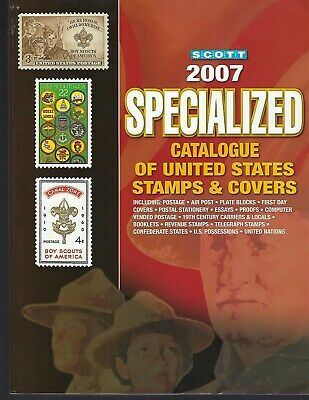 2007 Scott Specialized Catalogue of United States Stamps and Covers - in Color!