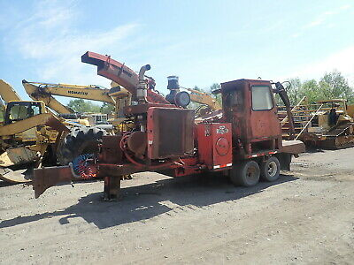 Morbark 30/36 WHOLE TREE CHIPPER RUNS EXC! CAT 3306 Forestry Grapple Cab