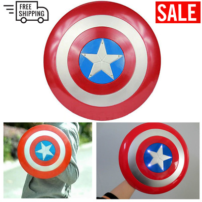 32CM Marvel Captain America Shield Kids Toy Replica Avengers Costume Accessory