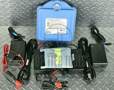 New Radiodetection Li-Ion & NiMH Battery Kit w/ Chargers AC DC for RD8000 RD7000