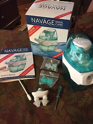 Navage Nasal Care Saline  Irrigation : Navage Nose Cleaner