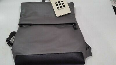19da438d3 NWT Moleskine Classic Foldover Backpack Gray & Black Business & Laptop NEW
