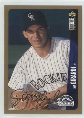 Joe Girardi 1996 Upper Deck Baseball Card 157 100