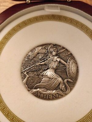 2015 Goddesses Of Olympus Athena 2 oz Silver High Relief Coin Perth Mint